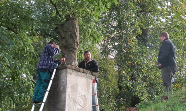 Kam zmizela socha Jana Nepomuckého?!