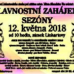 Slavnostní zahájení sezóny na zámku v Linhartovech
