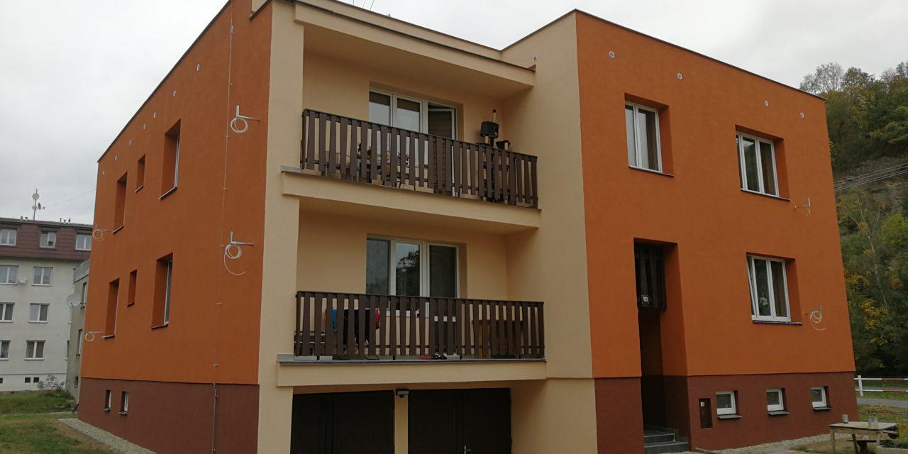 Zateplení bytových domů v Dívčím Hradě