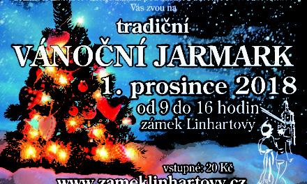 Pozvánka na Vánoční jarmark do Linhartov