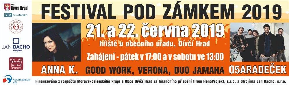 FESTIVAL POD ZÁMKEM 2019