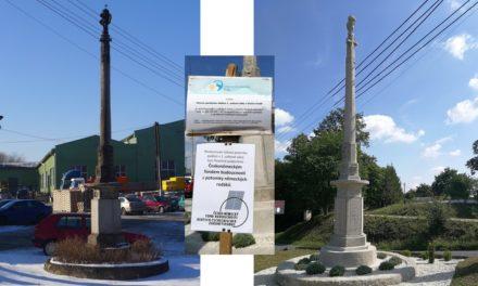 Pomník obětem padlým v 1. světové válce zrestaurován