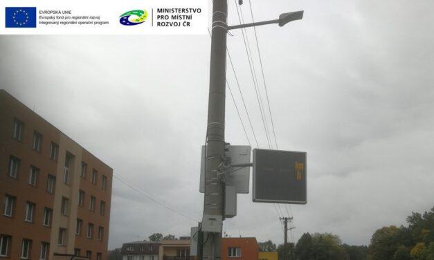 Instalací radarů došlo ke zklidnění dopravy a zvýšení bezpečnosti chodců